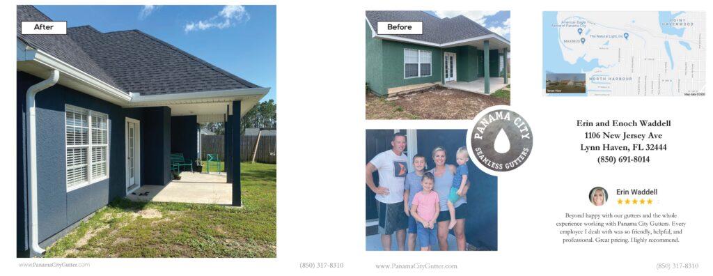 Seamless Gutter Installation Lynn Haven, FL